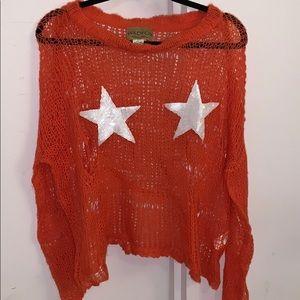 Knit Sheer Wildfox sweater